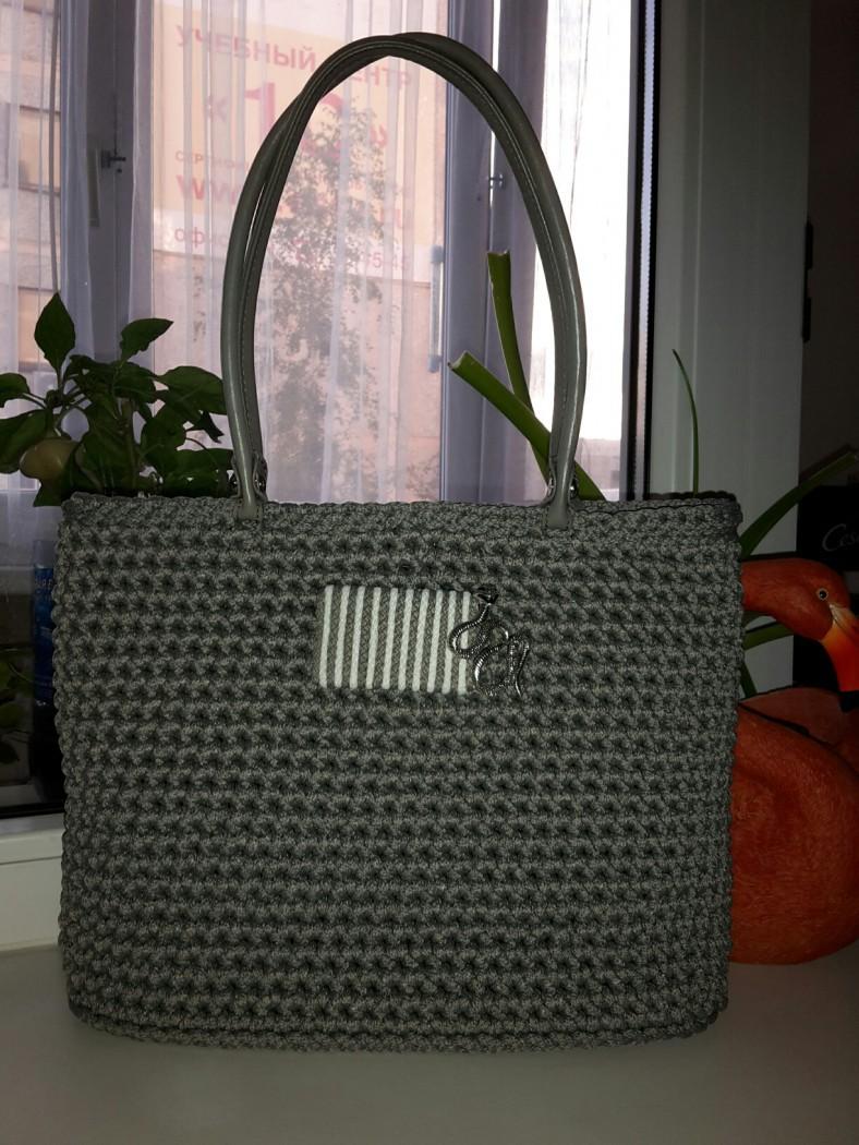 Шнур для вязания сумок 37