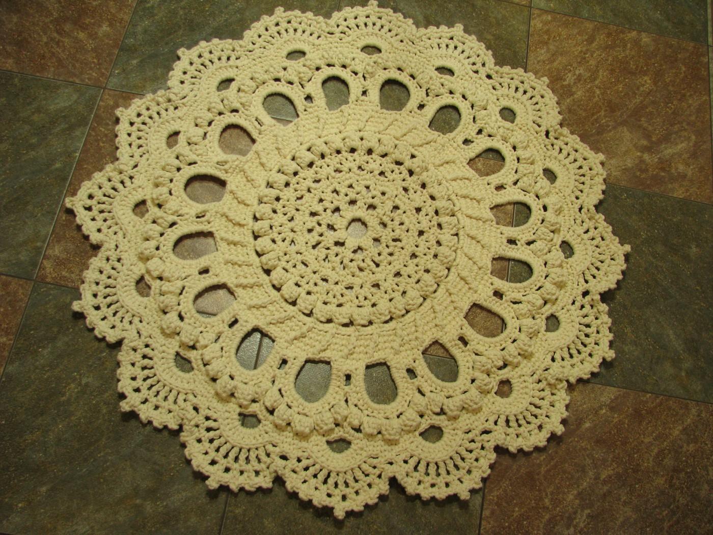 Вязание ковров из шнура крючком схемы фото 209
