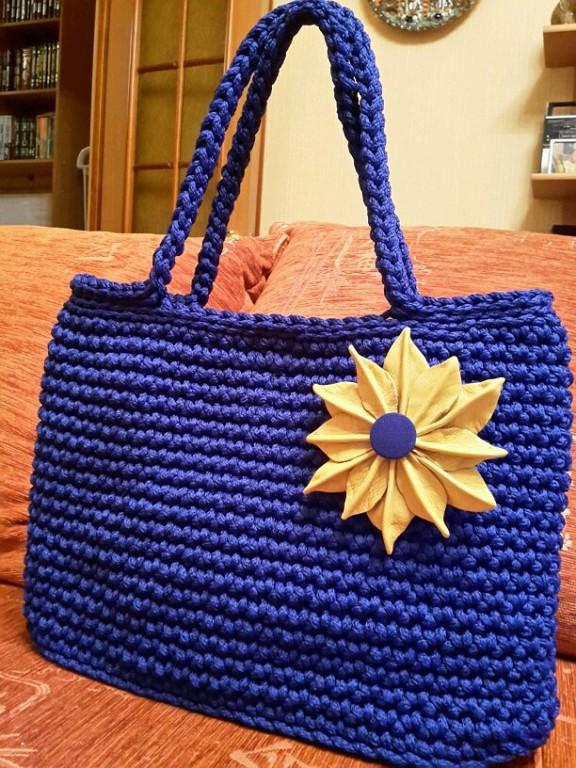 Шнур для вязания сумок 72